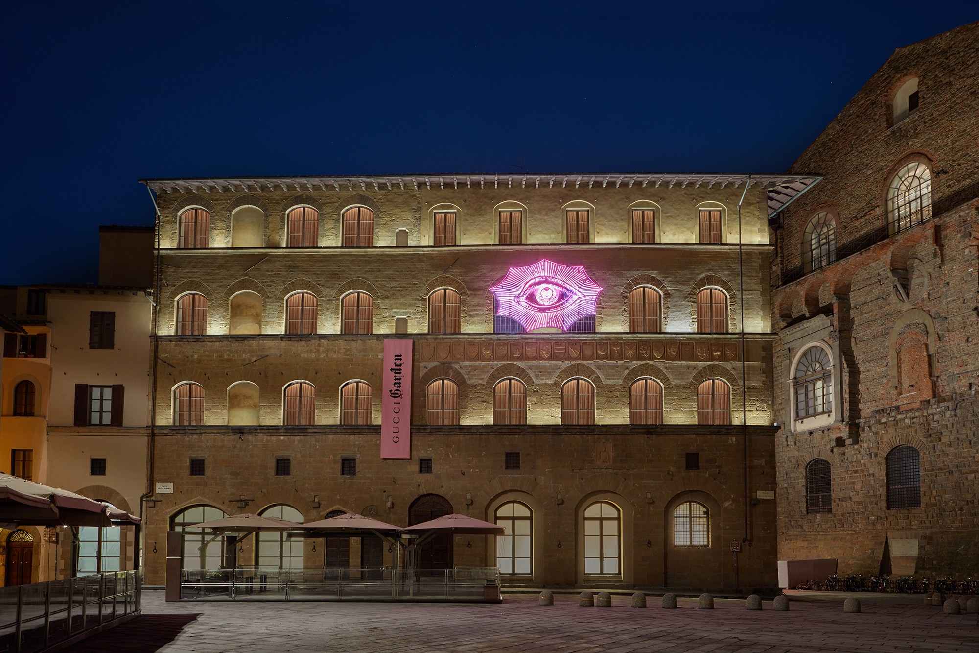 810d94839 O Gucci Garden, junto à Piazza della Signoria,em Florença